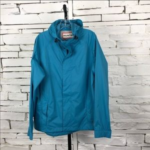 Hunter Original Rain Jacket Hoodie Full Zip Medium